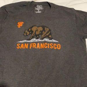 SF bear giants graphic tee